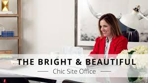 beautiful bright office. beautiful bright office o