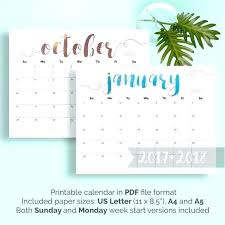 calendar template pages 2018 large monthly printable wall desk 2017 monthly calendar template