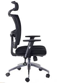 high back quality manager ergonomic computer black mesh swivel desk office chair with headrest 2