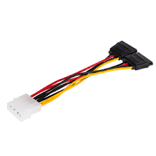 <b>Кабель Atcom</b> Molex m 2 х SATA <b>POWER</b> f 20 см AT8605 купить в ...