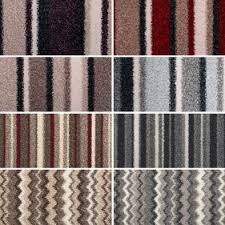 Moorland Stripe Felt Backed Carpet ...