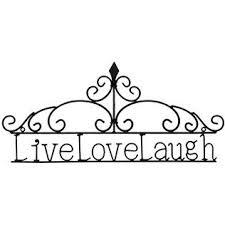 metal wall decor shop hobby: mahogany live love laugh metal wall decor shop hobby lobby