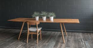 seno oak dining table extendable dining tables article modern mid century and scandinavian furniture