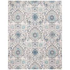 Image Flower Madison Creamlight Gray Ft 10 Ft Area Rug The Home Depot Teal Area Rugs Rugs The Home Depot