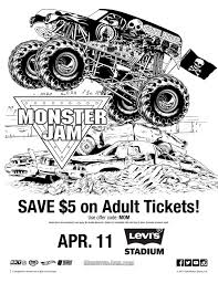 Small Picture Fun Monster Jam Activities For Your Kids Simply Real Moms
