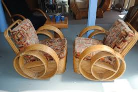 enquire about pair of art deco bamboo chairs