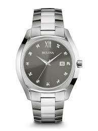 men s diamond watches bulova bulova 96d122 men s watch diamond