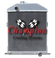 1942-1946 Ford Coupe Champion Radiator