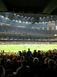 Mercedes Benz Superdome Section 119 Row 28 Seat 5