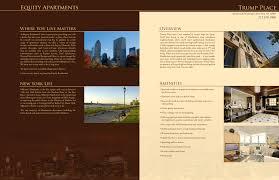 apartment brochure design. Magnificent Apartment Brochure Design With Elegant Toreto