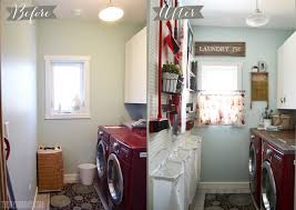 Laundry Room Accessories Decor Vintage Red and Aqua Small Laundry Room Design Ideas The DIY Mommy 70