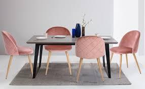 velvet dining chairs w gold legs