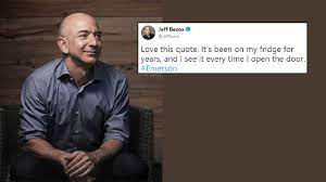 Jeff Bezos Has A Motivational Quote On ...