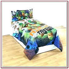 Ninja Turtle Bed Set Bedroom Comforter Turtles Twin Double – New ...