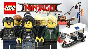 LEGO Ninjago Movie City Chase review! 2017 set 70607! - YouTube