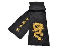 Kungfu Dragon Belt Imitation Silk