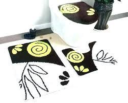 5 piece bathroom rug sets 3 set creative of scroll bath