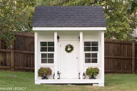 arkansas lifestyle blogger jennifer from maune legacy shares the outdoor playhouse plans any kid