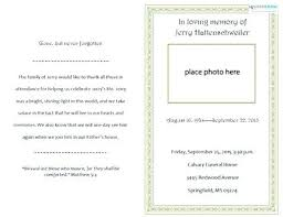 funeral mass program catholic funeral mass template wedding program no sample leaflet