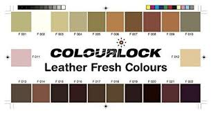 Colourlock Leather Fresh Dye Diy Repair Colour Dye Restorer For Scuffs Small Cracks On Car Seats Sofas Bags Settees And Clothing