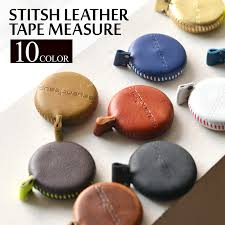stitched leather measure leather tape measure seeking unit 150 cm cm and inch measuring 60 inch