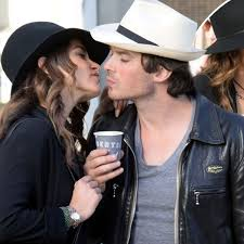 Reagan gilbert on the fridge. Ian Somerhalder And Nikki Reed Are Totally Loved Up As Nina Dobrev Confirms She S Leaving The Vampire Diaries Mirror Online