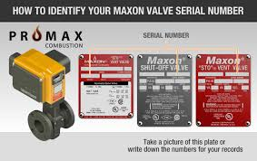 maxon safety valves promax combustionpromax combustion how to your valve model