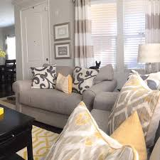 gray and yellow furniture. Living Room, Yellow Pillows For Gray Room Ideas Pinterest: And Furniture