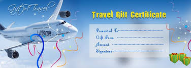 travel voucher template free travel gift voucher certificate template free gift