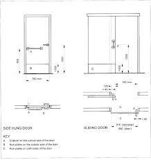 shower standard height r standard height of sliding door