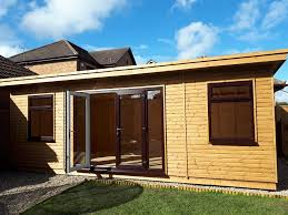 timber garden room apex timber buildings