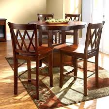 high kitchen table round high top tables dinette area design with round leaf bar high kitchen