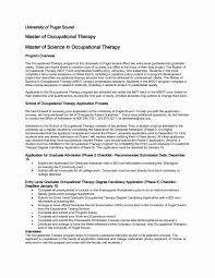 Free Occupational Therapy Resume Templates New Music Therapist