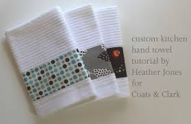 custom kitchen hand towels by heather jones