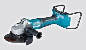 makita cordless grinder. dga900 18vx2 230mm cordless brushless angle grinder makita
