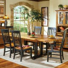 intercon rustic mission refectory dining table sheely s furniture from wooden dining room furniture in rustic style source com
