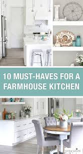 Image Kitchen Cabinets 10 Musthaves For Farmhouse Kitchen Simple Decorating Ideas For How To Update Living Locurto Farmhouse Kitchen Decorating Ideas 10 Musthaves For Modern
