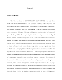 term paper of pragmatics presupposition 12