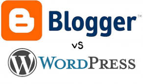 Image result for foto blogspot vs wordpress