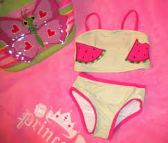 Infant Baby Girl Bathing Suit Bikini Watermelon