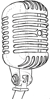 Vintage Old School Retro Can Microphone Tattoo By Metacharis On