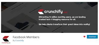 Facebook Members Page Like Box Wordpress Plugin Crunchify