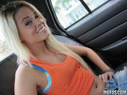 Shaved Blonde Jessa Rhodes from Mofos in Car TGP gallery 191491