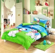 toddler bed duvet cover dog print kids toddler bedding set cartoon twin doona duvet cover quilt toddler bed duvet