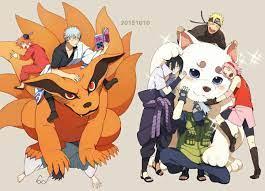 Gintama x Naruto | Anime crossover, Anime, Gintama wallpaper