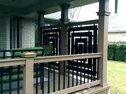 deck privacy screen backyard