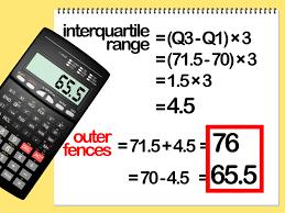 calculate outliers statisticsmathmathematicscalculus