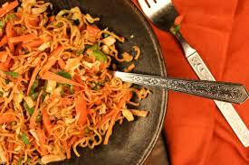 chinese bhel recipe crispy noodle salad