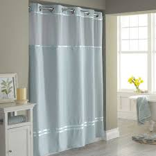 stall shower curtains blue
