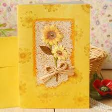 Paper Flower Business Birthday Cards Birthday Card Greeting Card Big Paper Flowers